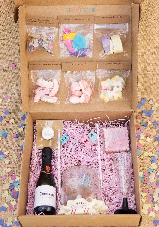 Chuches, globos, serpentina... para regalos de cumpleaños