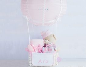 Globo bebe rosa regalo almeria