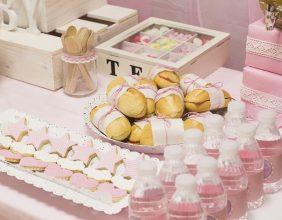 baby shower comida personalizado almeria