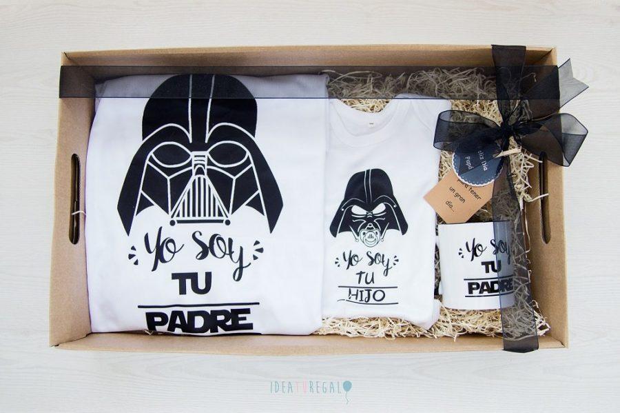 Camiseta y Taza Yo soy tu padre y camiseta yo soy tu hijo