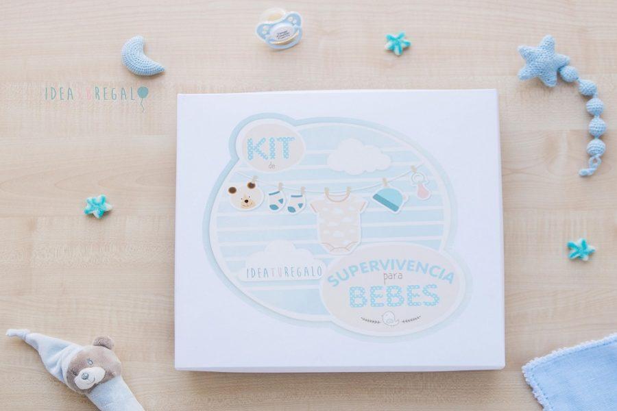 Caja decorada para bebe