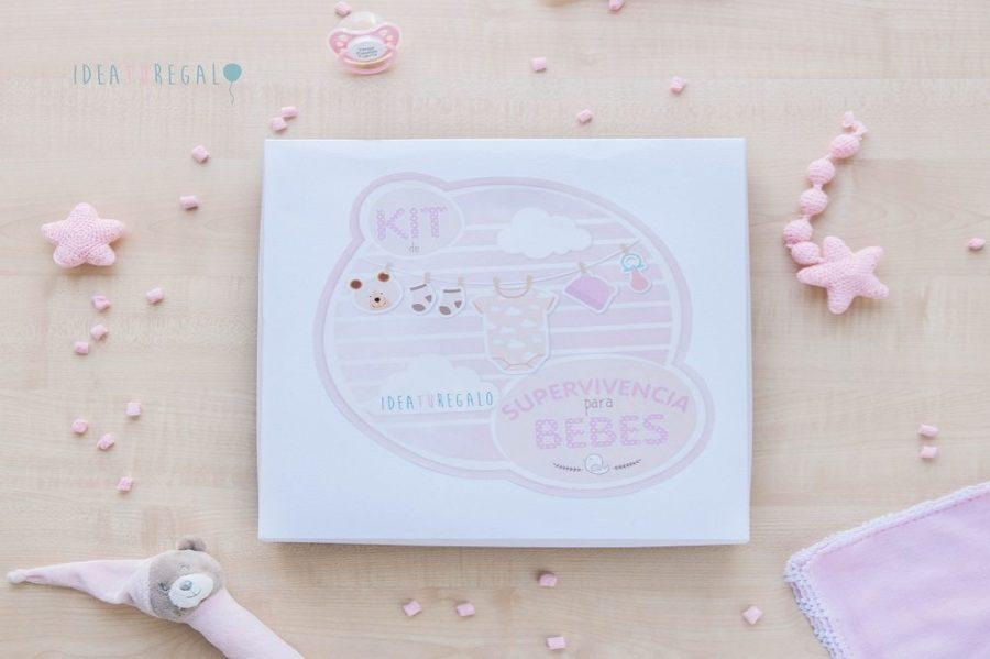 Caja decorada para bebes