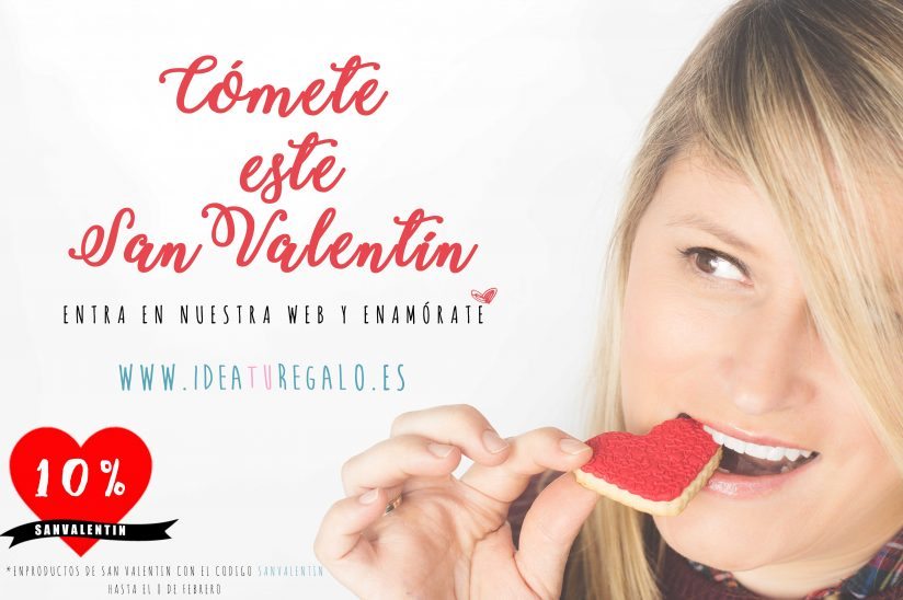 Cómete este San Valentín